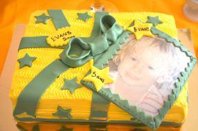 Badges gâteau personnalisé