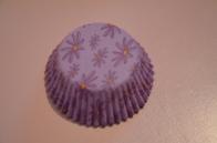 Caissette fleur violet