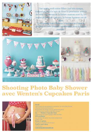 Shooting Photo Baby Shower