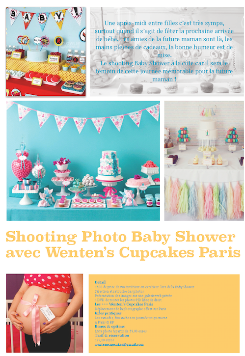 Shooting Photo Baby Shower 1 heure