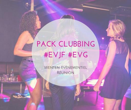Pack Clubbing EVJF 974, Enterrement de vie de garçon 974,